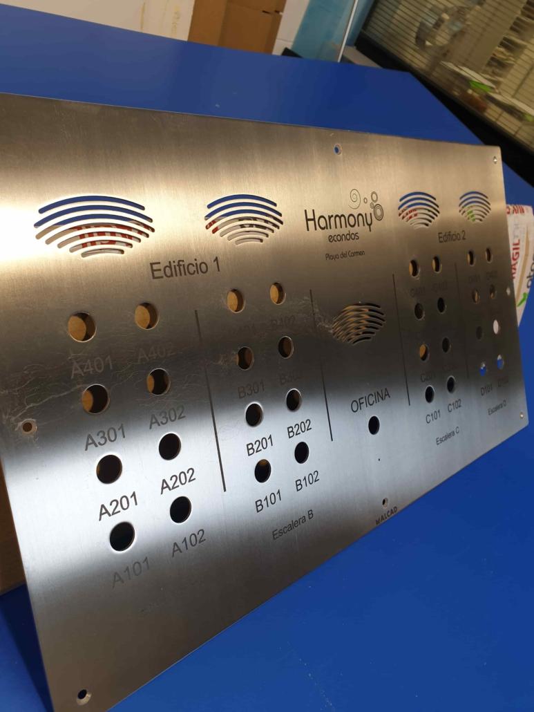Grabado Laser y CNC de acero y aluminio cantabria